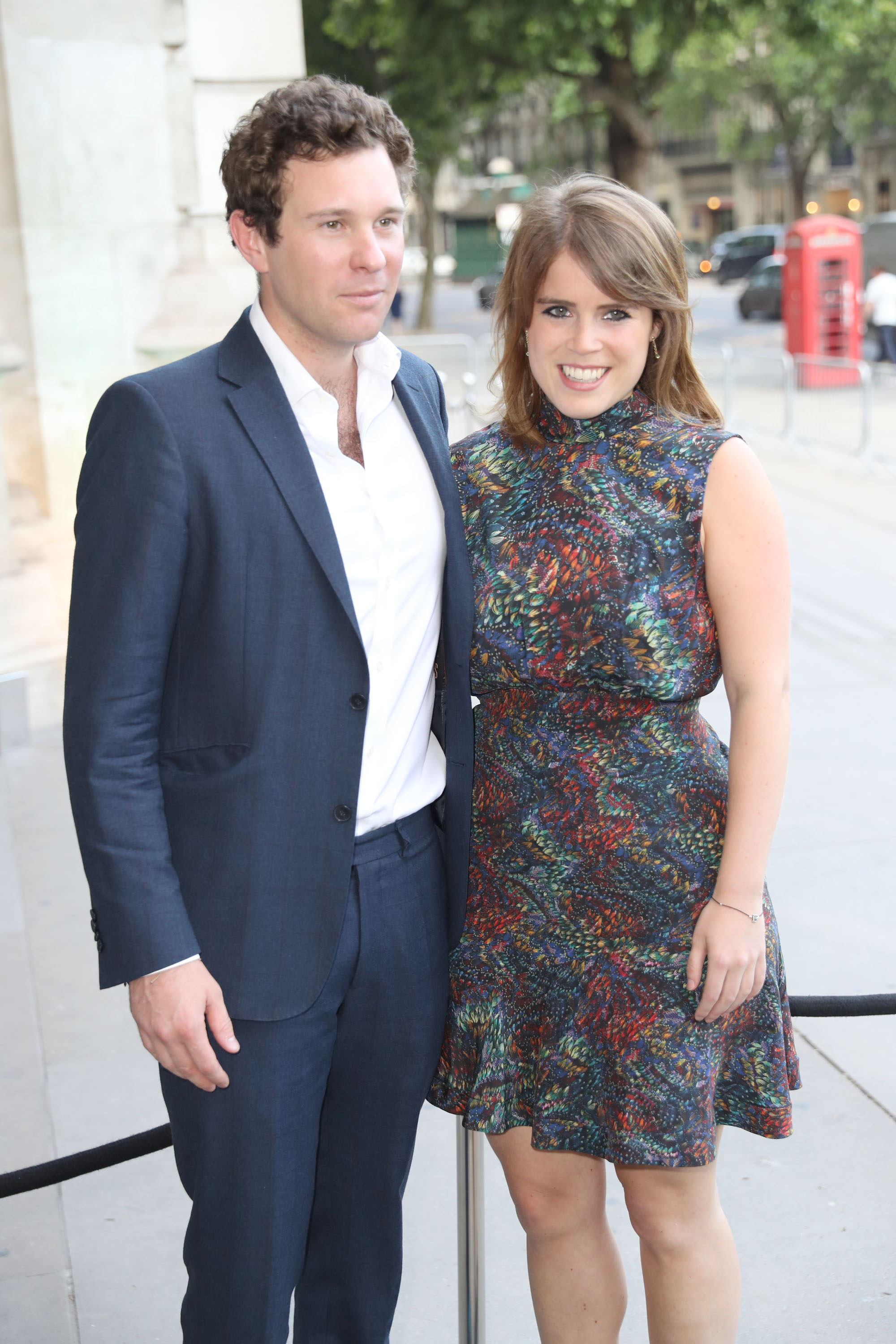 Jack Brooksbank and Princess Eugenie of York attend the V&A summer party at The V&A on June 21, 2017 in London, England. (Getty Images)