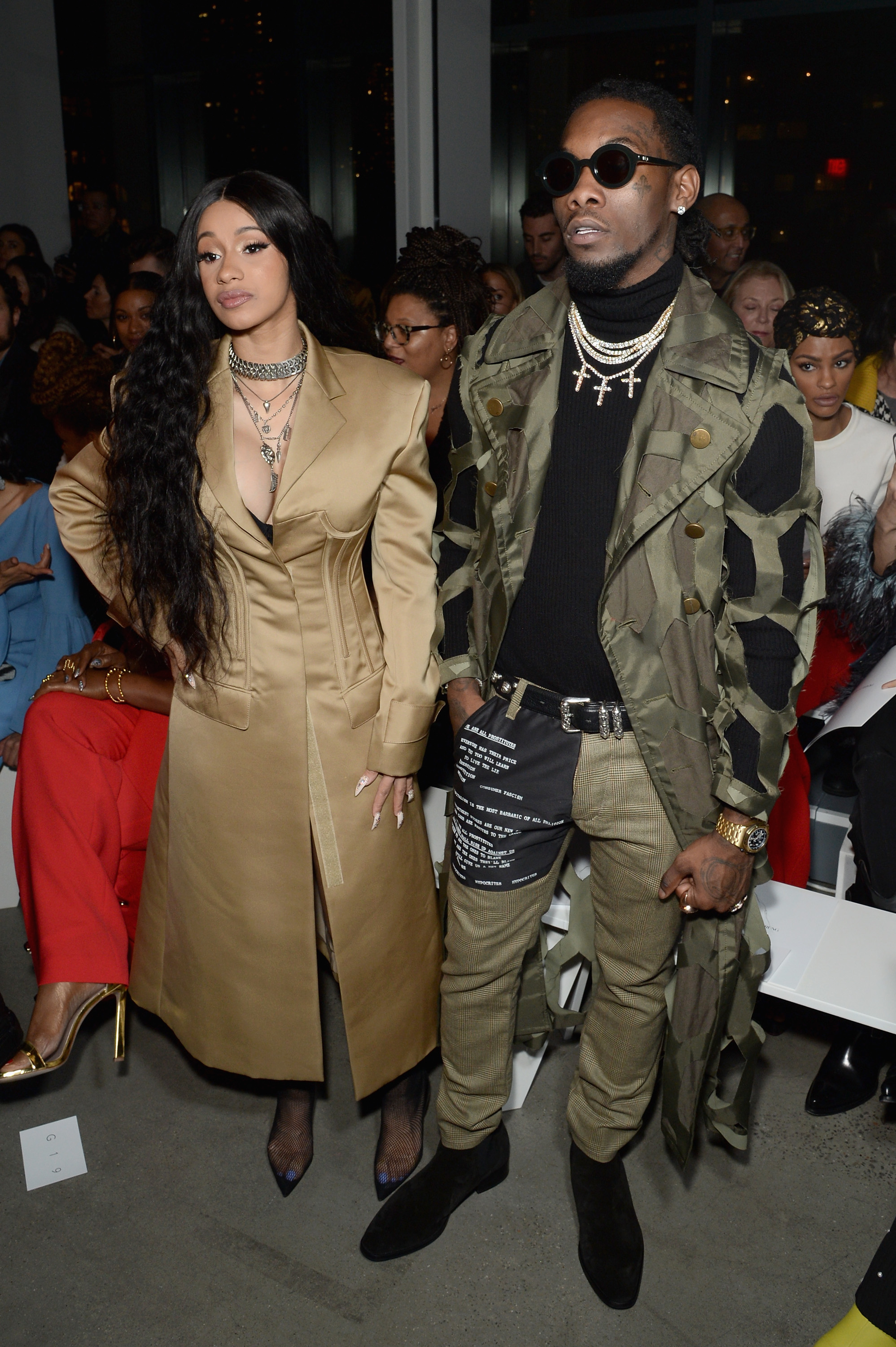 Trouble in paradise? Things don't seem to be going too well in Cardi B and Offset's marriage. (Photo Credit: Getty Images)