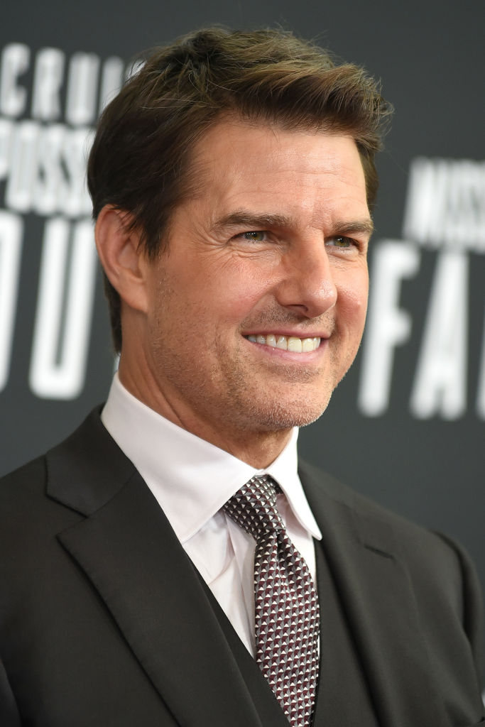 Tom Cruise attends the U.S. Premiere of 'Mission: Impossible - Fallout' at Smithsonian's National Air and Space Museum on July 22, 2018, in Washington, DC (Source: Shannon Finney/Getty Images)