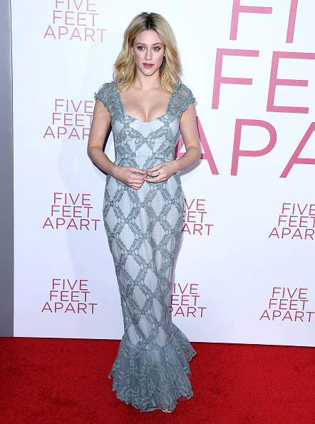Lili Reinhart arrives at the Premiere of Lionsgate's 'Five Feet Apart' at Fox Bruin Theatre on March 07, 2019, in Los Angeles, California. (Photo by Steve Granitz/WireImage)