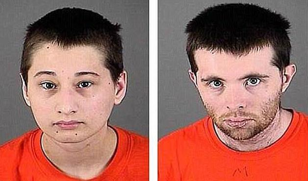 Gypsy Rose Blanchard (L) and Nicholas Godejohn (R) (Source: Greene County Sheriff's Department)