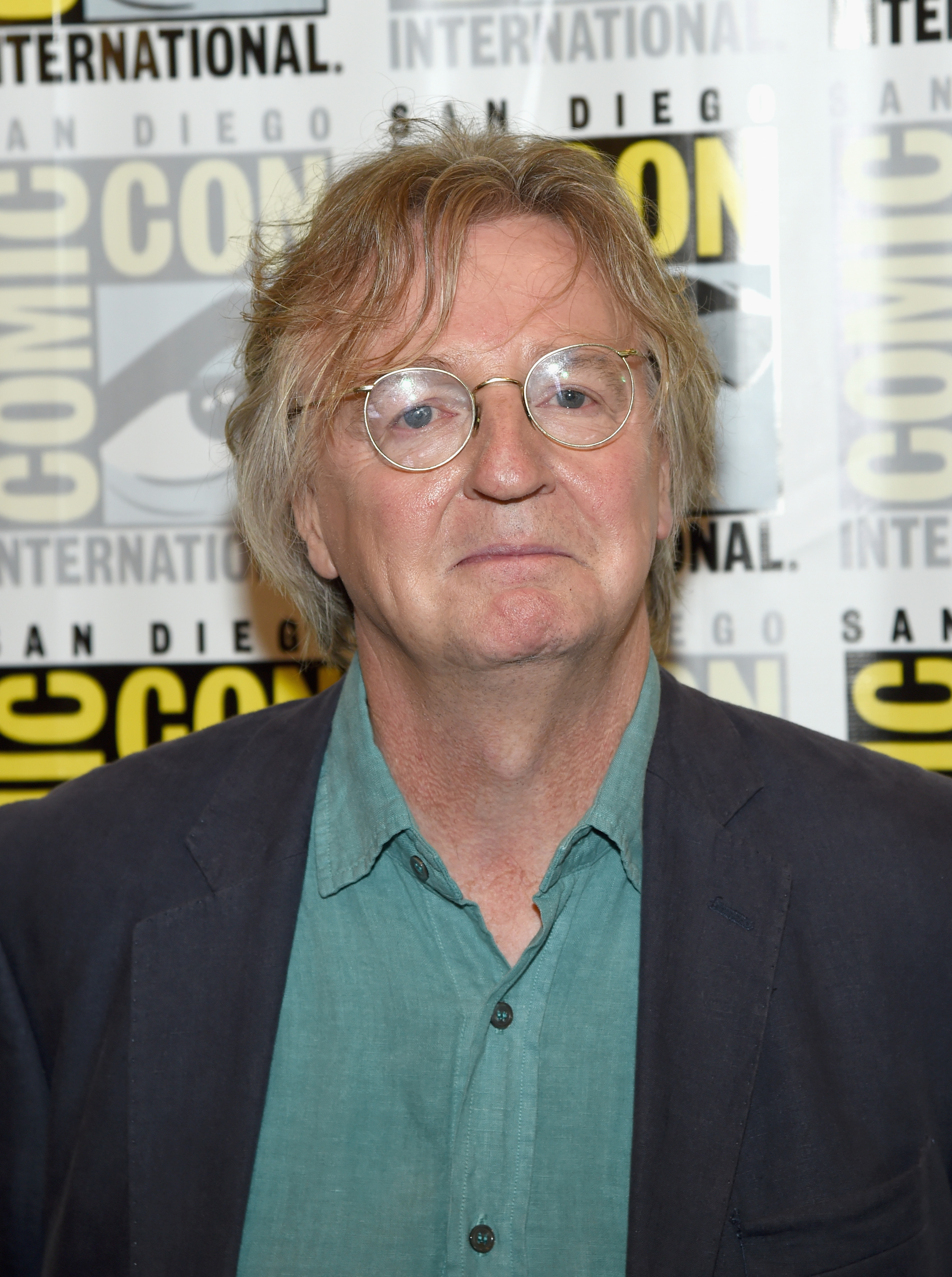 Writer/producer Michael Hirst attends a media room for the History series 'Vikings' during Comic-Con 2014 at the Hilton San Diego Bayfront hotel on July 25, 2014, in San Diego, California. (Getty Images)
