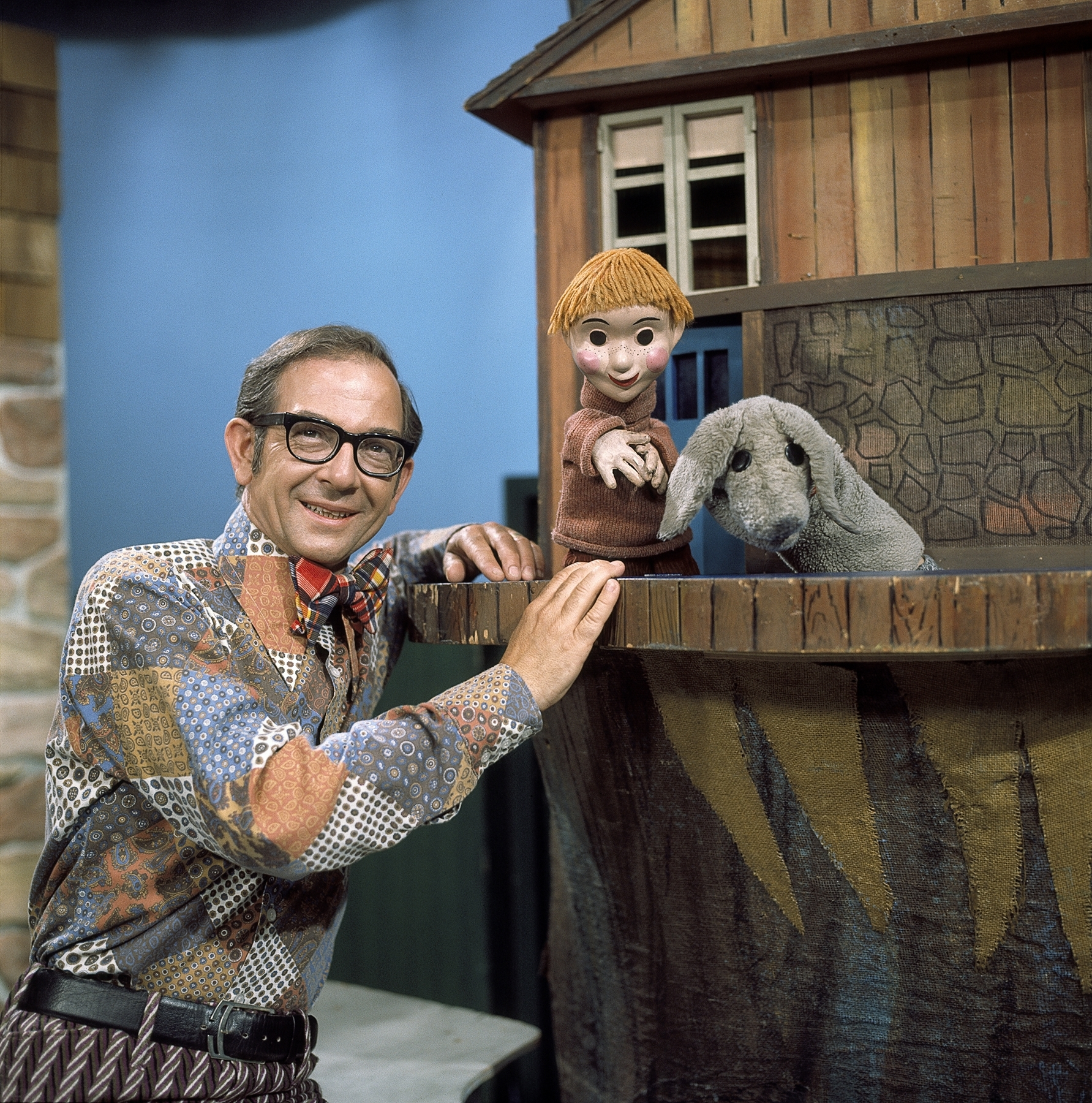 A pioneer in Canadian kids TV, Mr. Dressup, Ernie Coombs (Facebook)