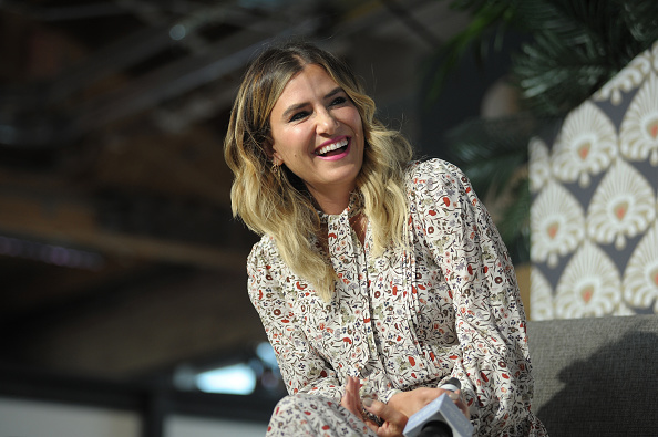 Alli Webb attends for Create & Cultivate conference at the House of Vans with partners include Microsoft Teams. (Getty Images)