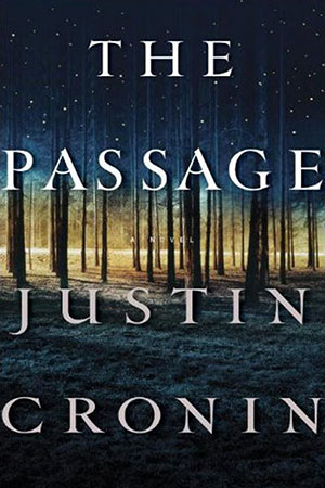 Book cover of Justin Cronin's The Passage. Source: The Passage website.