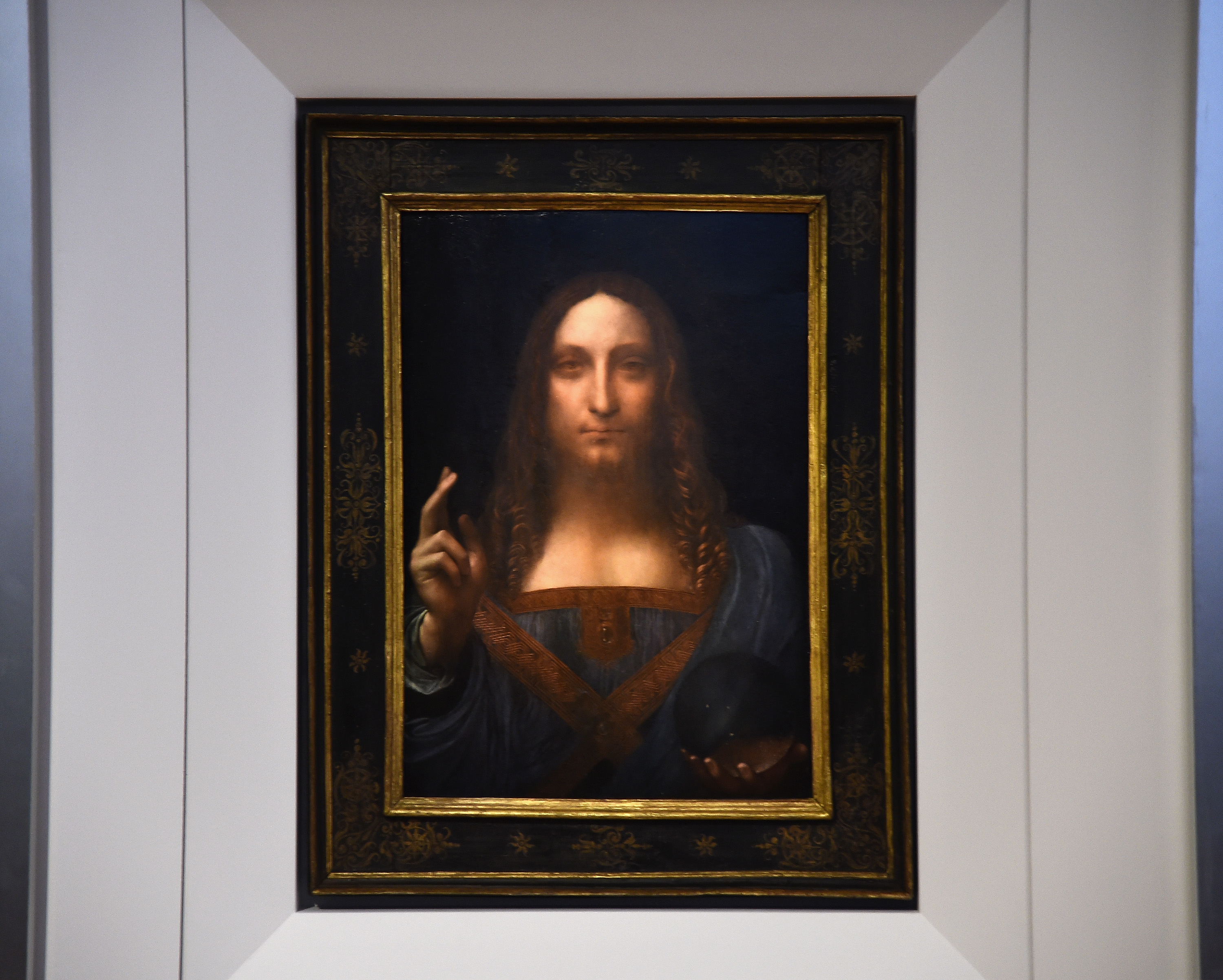 Experts suggest the painting was done by one of Leonardo's assistants (Source: Ilya S. Savenok/Getty Images for Christie's Auction House)