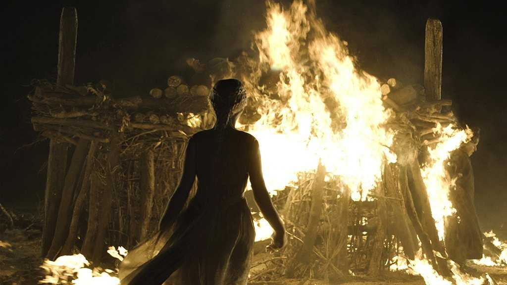 Perhaps it was Bran who had whispered to Daenerys to walk into the fire and prove herself as the unburned. (IMDb)