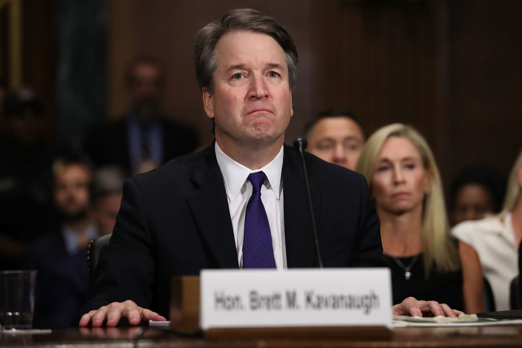 Donald Trump's Suprme Court nominee Brett Kavanaugh