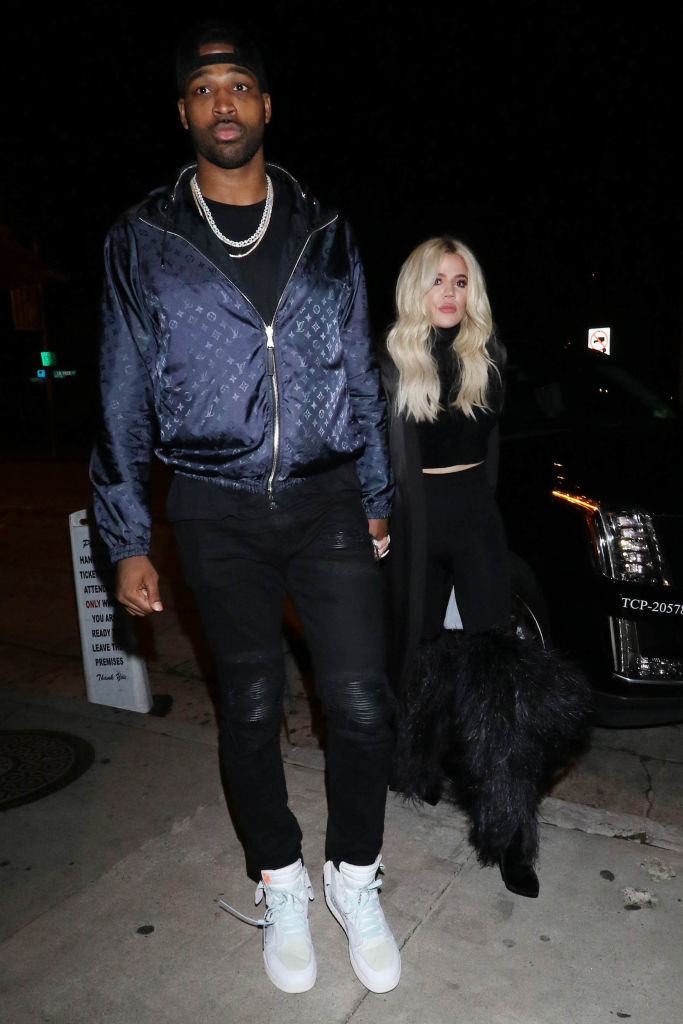 Tristan Thompson and Khloe Kardashian (Source: Getty Images)