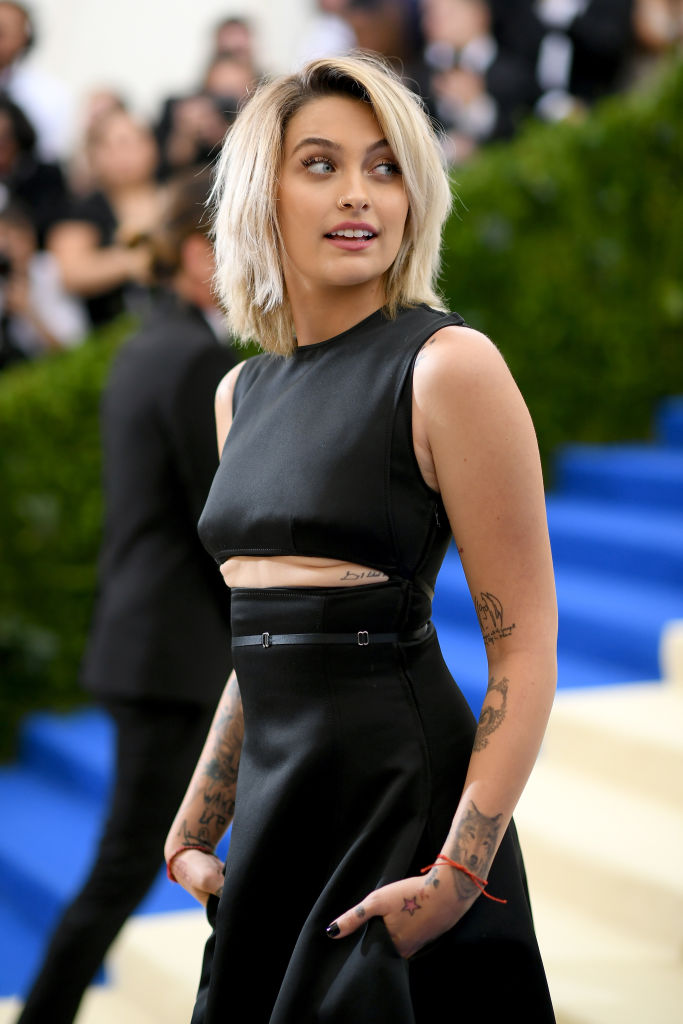 Paris Jackson attends the 'Rei Kawakubo/Comme des Garcons: Art Of The In-Between' Costume Institute Gala at Metropolitan Museum of Art on May 1, 2017, in New York City. (Photo by Dimitrios Kambouris/Getty Images)