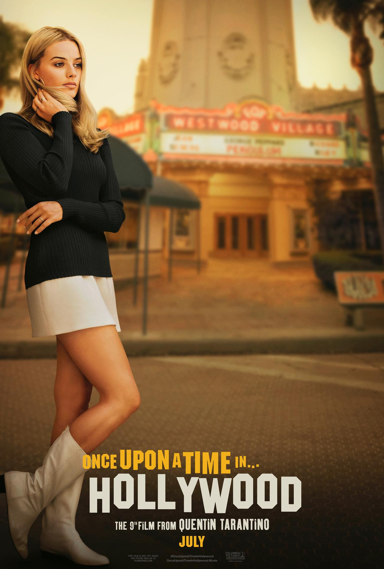 A poster of Quentin Tarantino's upcoming film 'Once upon a Time in Hollywood'. (Twitter/Margot Robbie)
