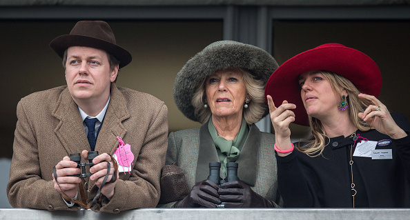 Tom Parker Bowles, Camilla, Duchess of Cornwall, and Laura Lopes (Source: Getty Images)