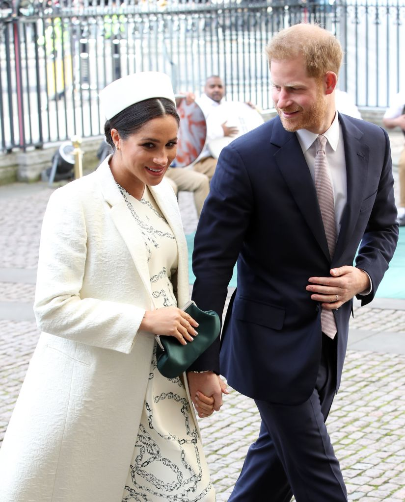 Meghan, Duchess of Sussex and Prince Harry, Duke of Sussex attend the Commonwealth Service on Commonwealth Day at Westminster Abbey on March 11, 2019, in London, England (Source: Chris Jackson/Getty Images)