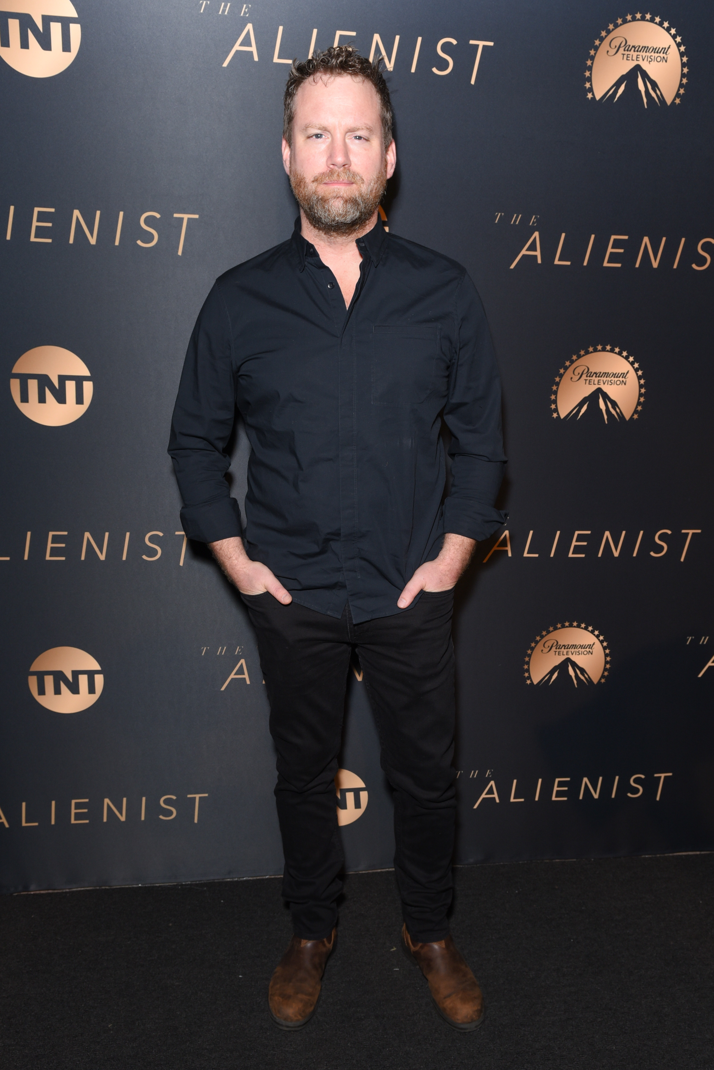Patrick Gilmore attends Premiere Of TNT's 'The Alienist' - Arrivals on January 11, 2018 in Los Angeles, California.