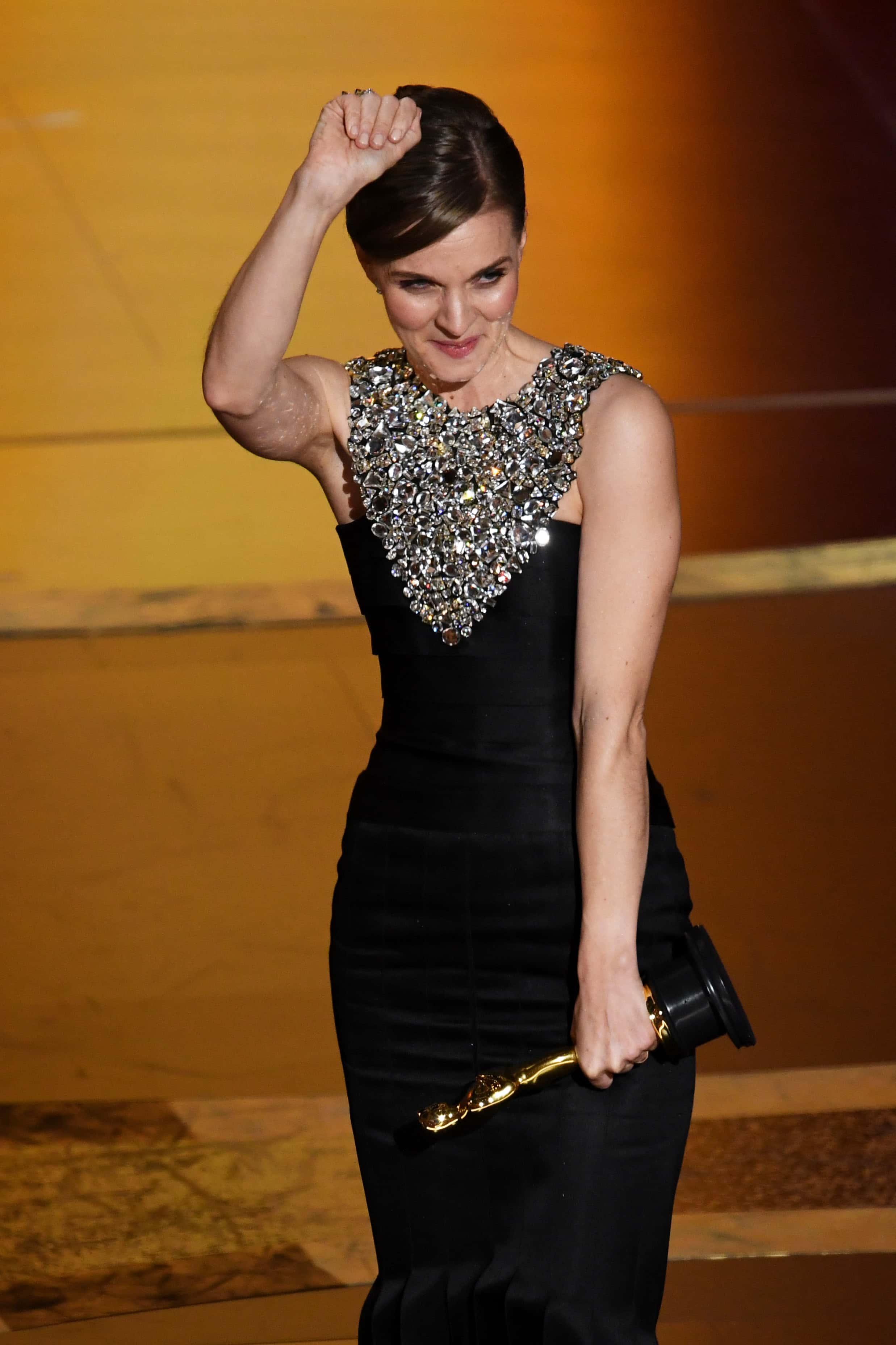 Oscars 2020: Hildur Guðnadóttir wins Best Original Score award for 'Joker', urges women to ...