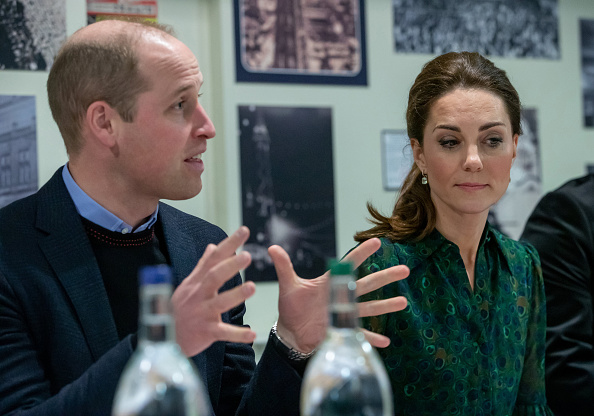 Catherine, Duchess of Cambridge and Prince William, Duke of Cambridge attend a community meeting during a visit to Blackpool Tower (Source: Getty Images)