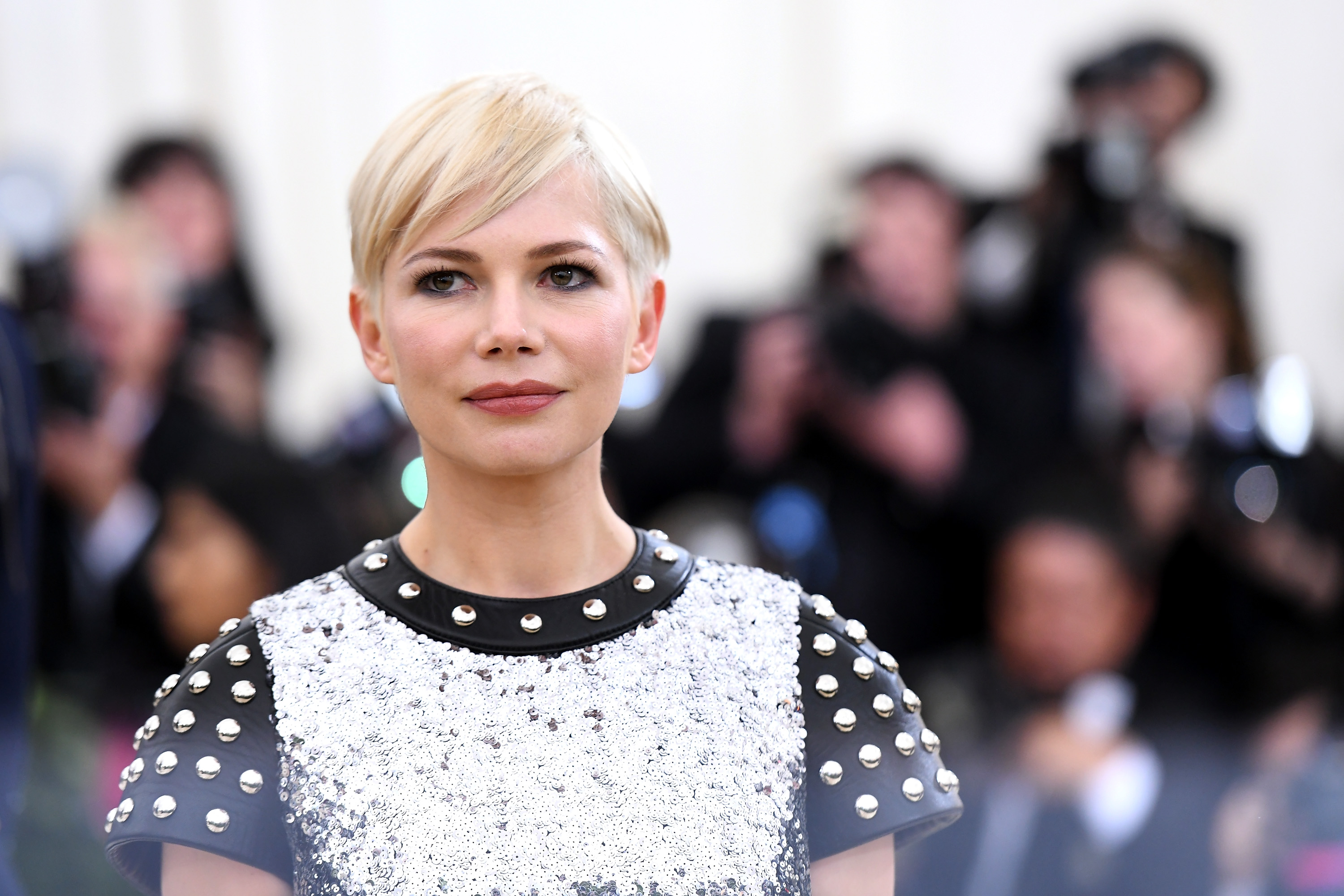 Actor Michelle Williams attends the Heavenly Bodies: Fashion & The Catholic Imagination Costume Institute Gala at The Metropolitan Museum of Art on May 7, 2018 in New York City