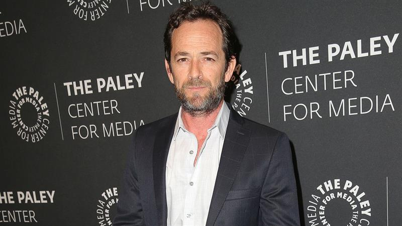 Beverly Hills, 90210 alum Luke Perry, who died last week at the age of 52 after suffering from a fatal stroke. (Source: Getty Images)