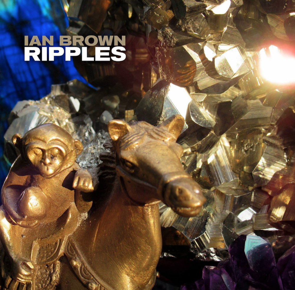 Album art for Ian Brown's forthcoming solo album 'Ripples'. The artwork was created by Brown himself. (Photo Credit: Polydor)