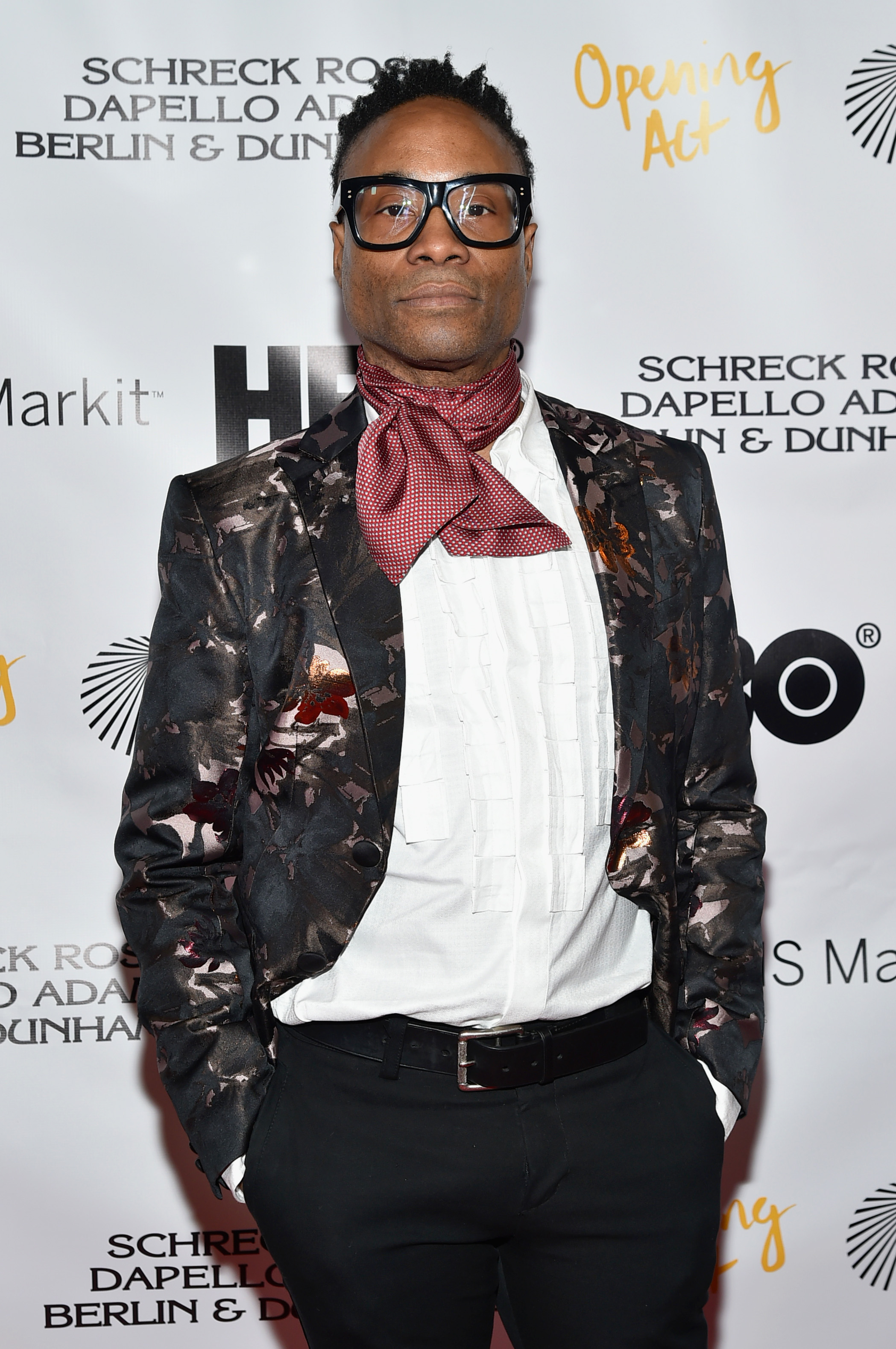 Billy Porter attends Opening Act's 12th Annual Benefit Play Reading 'Hear Me Here' At New World Stages on March 13, 2018 in New York City.