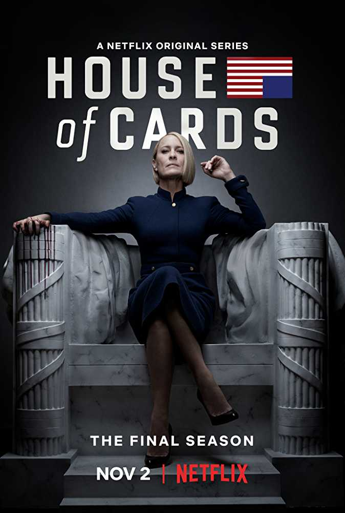 'House of Cards' will return for the final time on November 2 (Source: IMDb)