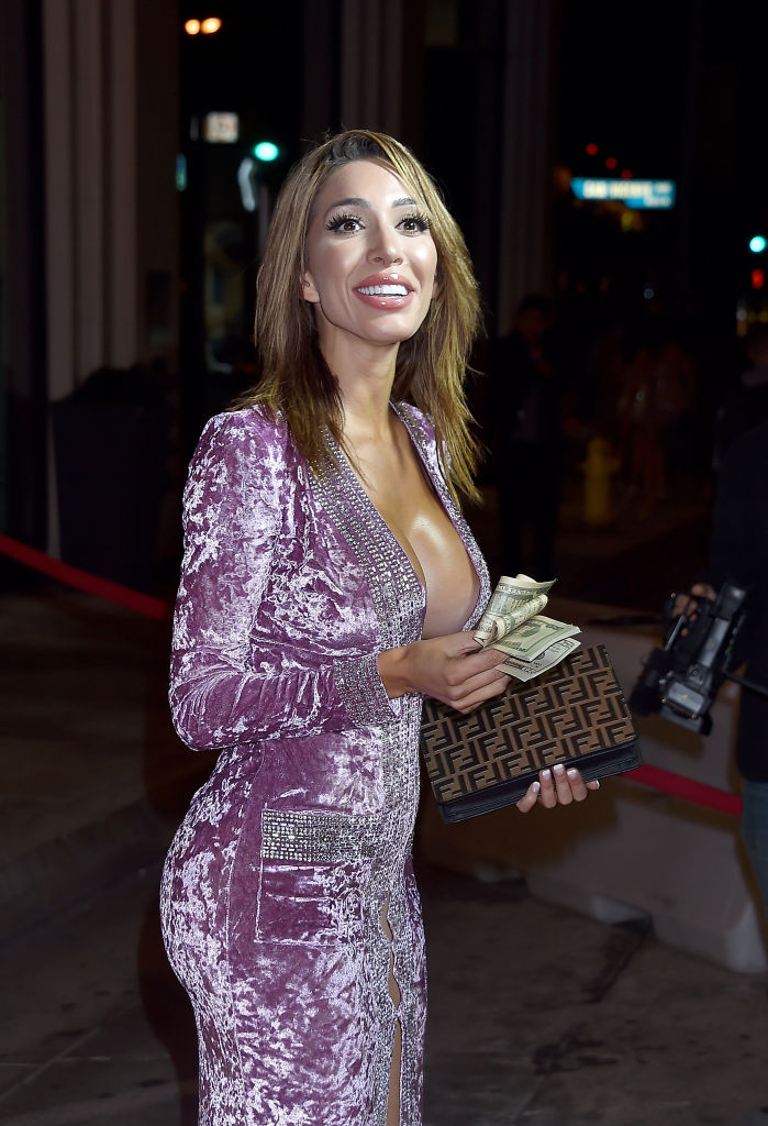 Farrah Abraham arrives at PrettyLittleThing X Hailey Baldwin at Catch on November 5, 2018, in West Hollywood, California. (Getty Images)