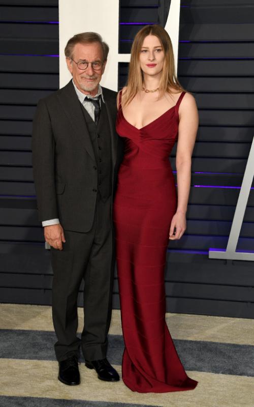 Steven Spielberg shows off stunning daughter Destry, 22, at