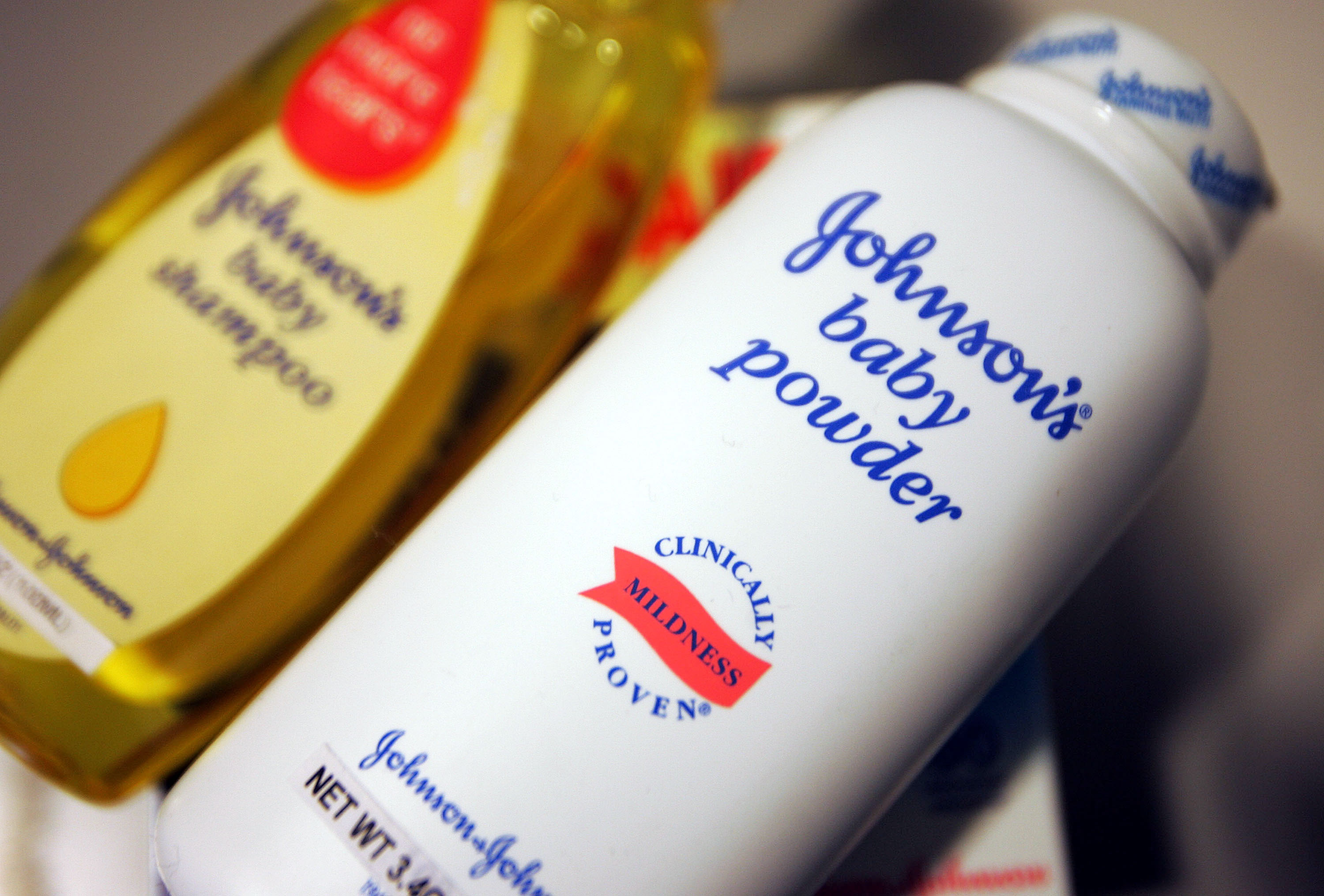 Johnson & Johnson's products are seen December 16, 2004 in New York. Johnson & Johnson's agreed to buy Guidant Corp, a defibrillator manufacturer for $25.4 billion.