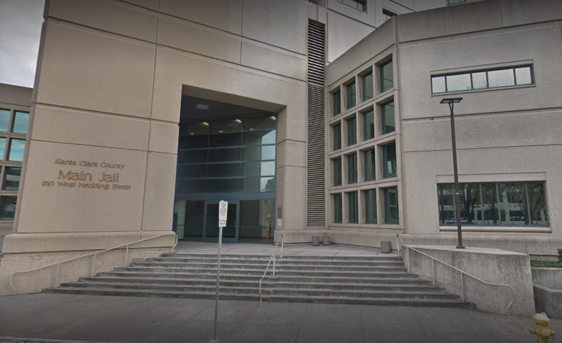 Cringle is being held at the Santa Clara County Jail without bail (Source: Google Maps)