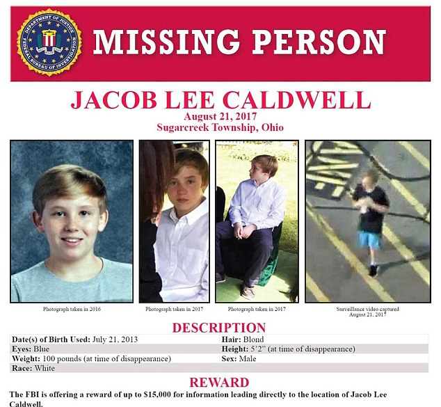 The FBI put out a reward for information on his whereabouts (Source: FBI)
