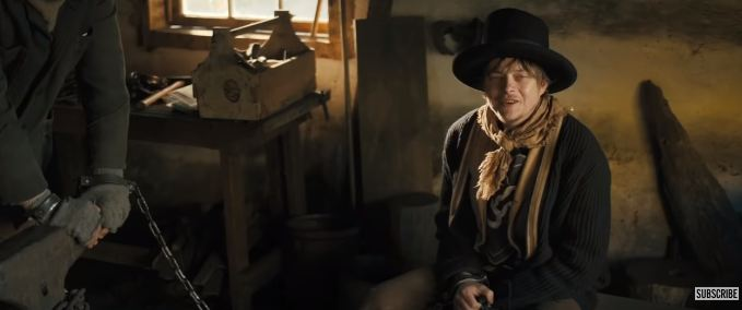 Billy The Kid is played by Dane DeHaan in the upcoming film The Kid. (Source: YouTube)