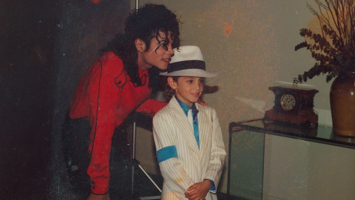 Michael Jackson and Wade Robson (Facebook)