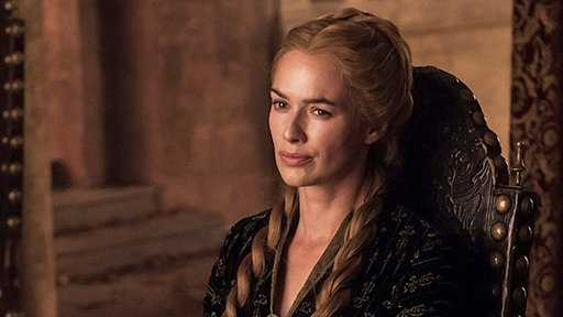 Lena Headey as Cersei Lannister in 'Game of Thrones' (Source: IMDB)