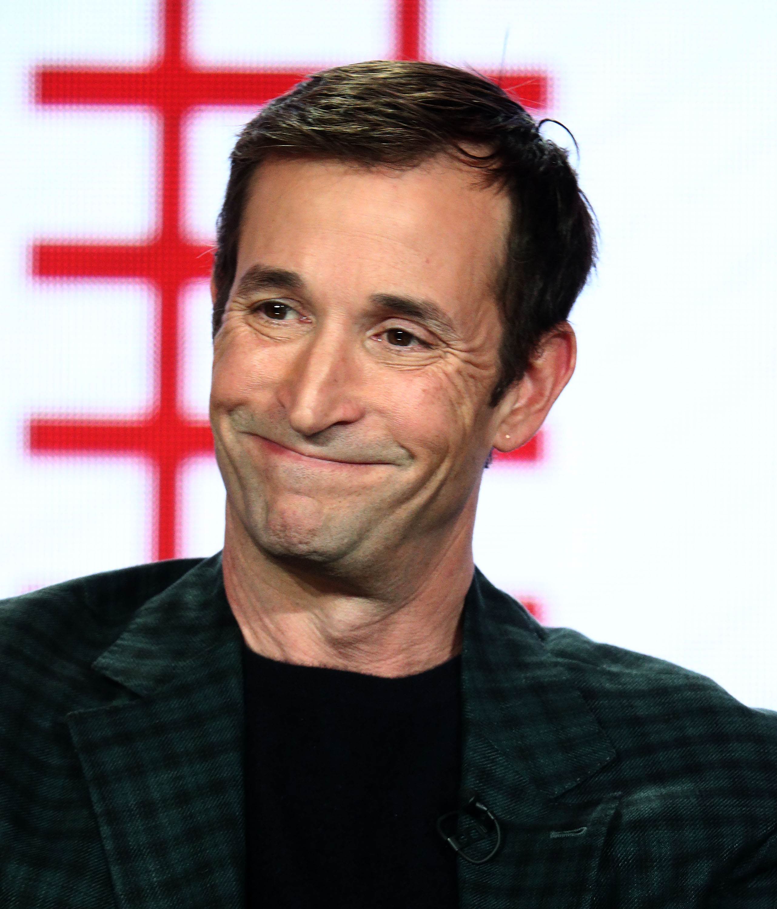 Actor Noah Wyle of the television show 'The Red Line' speaks during the CBS segment of the 2019 Winter Television Critics Association Press Tour at The Langham Huntington, Pasadena on January 30, 2019, in Pasadena, California. (Getty Images)