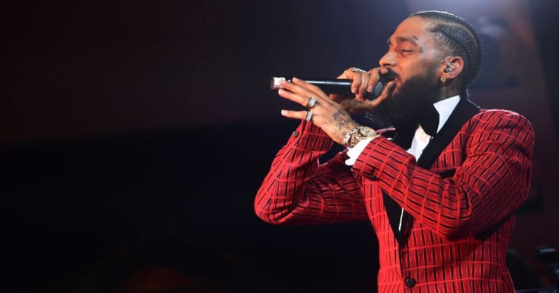 Rapper Nipsey Hussle was shot dead in a gun shooting in Los Angeles on Sunday (Getty Images)