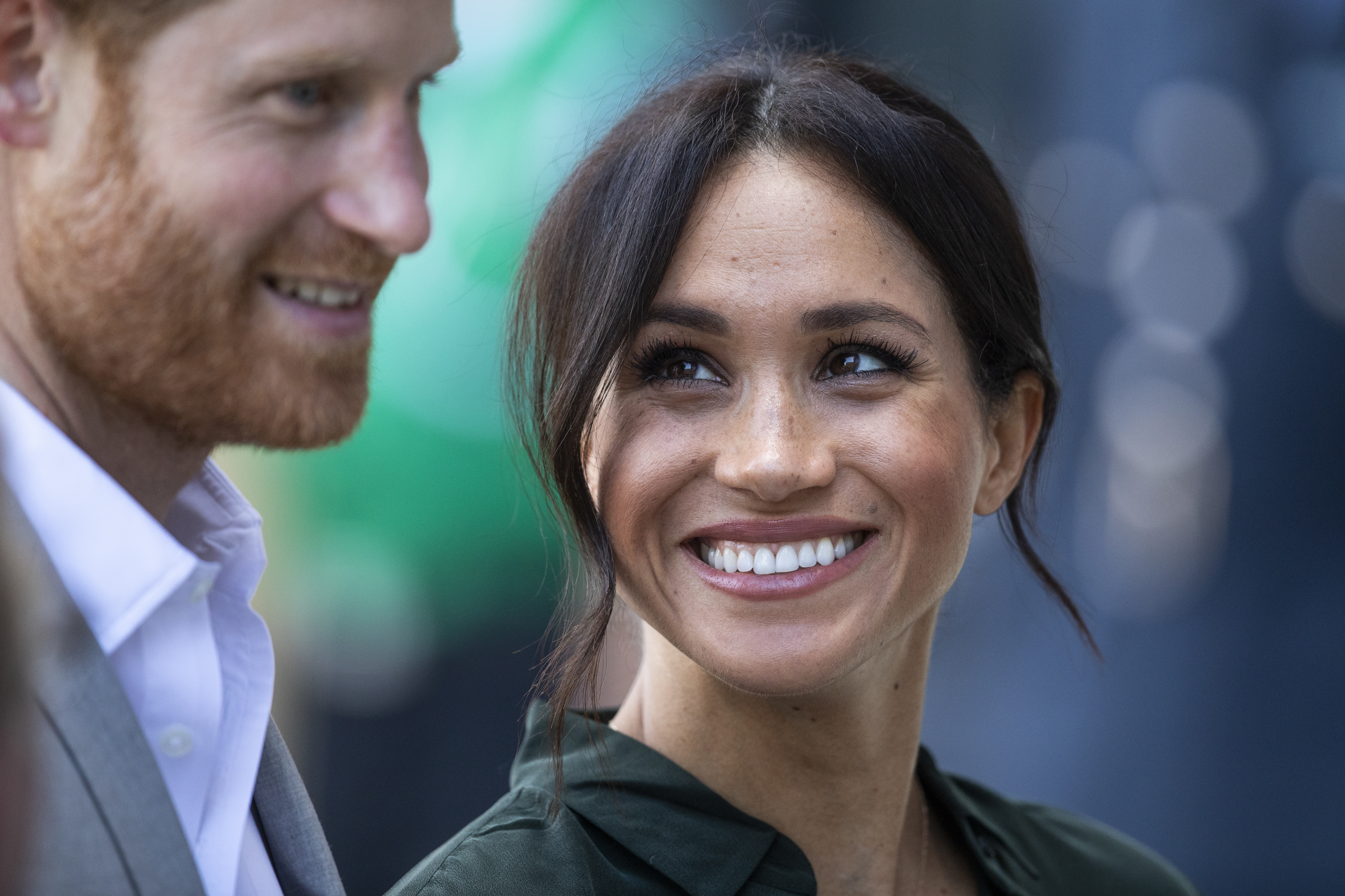 Prince Harry and his wife Meghan Markle (Source: Getty Images)