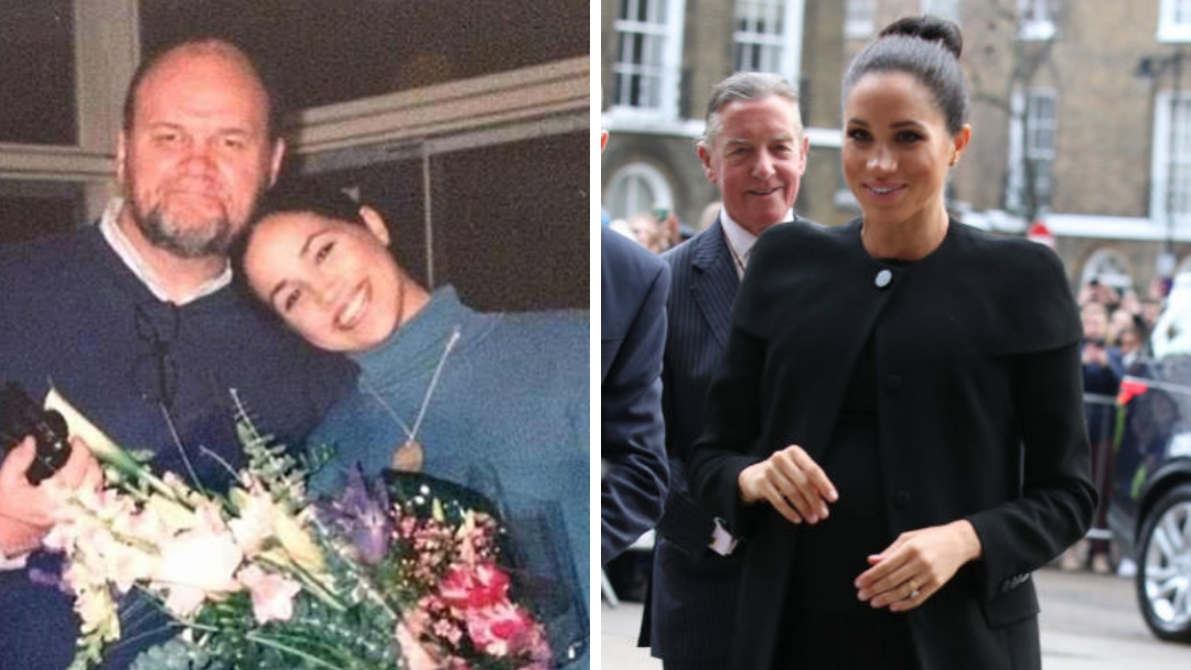 Meghan has had an extremely difficult year when it comes to handling her family back in the US, with half-siblings Samantha and Thomas Jr. repeatedly criticizing her for cutting off their father. (Source: Twitter/Getty Images)