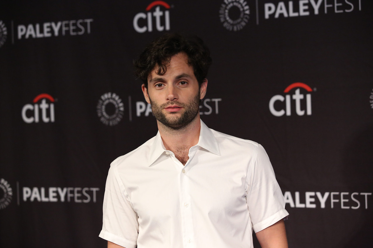 Penn Badgley arrives at The Paley Center for Media's 12th Annual PaleyFest Fall TV Previews celebrating Lifetime's YOU at the Paley Center in Beverly Hills on September 9, 2018. © Brian To for the Paley Center