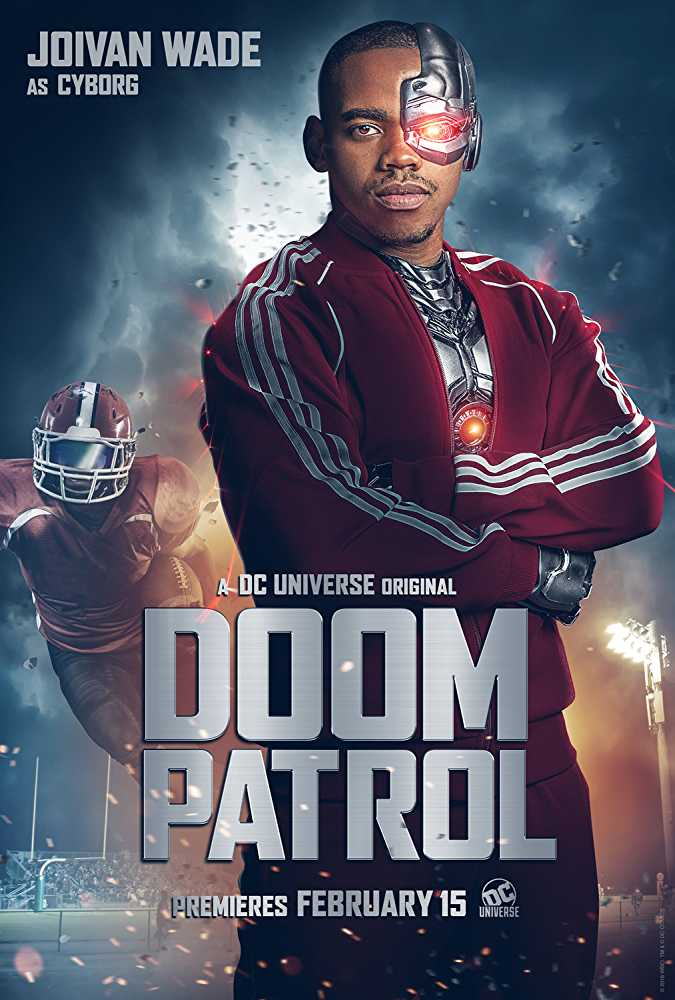 Joivan Wade as Cyborg in 'Doom Patrol'. (Source: IMDB)