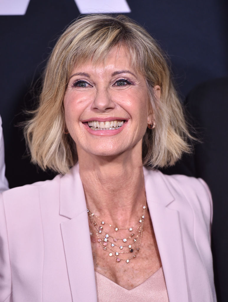 Olivia Newton-John attends the Academy Presents 'Grease' (1978) 40th Anniversary at the Samuel Goldwyn Theater on August 15, 2018 in Beverly Hills, California. (Photo by Alberto E. Rodriguez/Getty Images)
