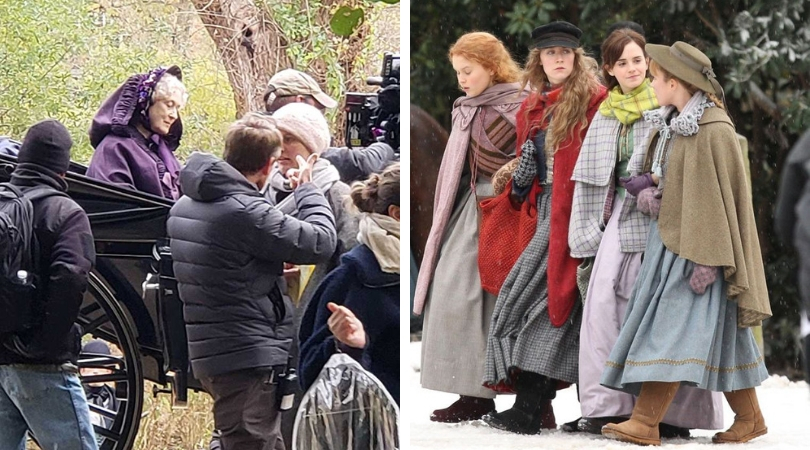 An image from the sets of 'Little Women' (IMDb)