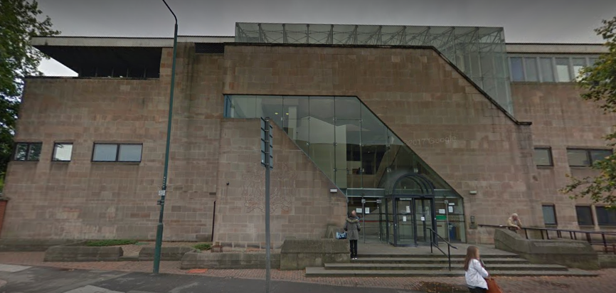 The trial is taking place at the Nottingham Crown Court (Source: Google Maps)