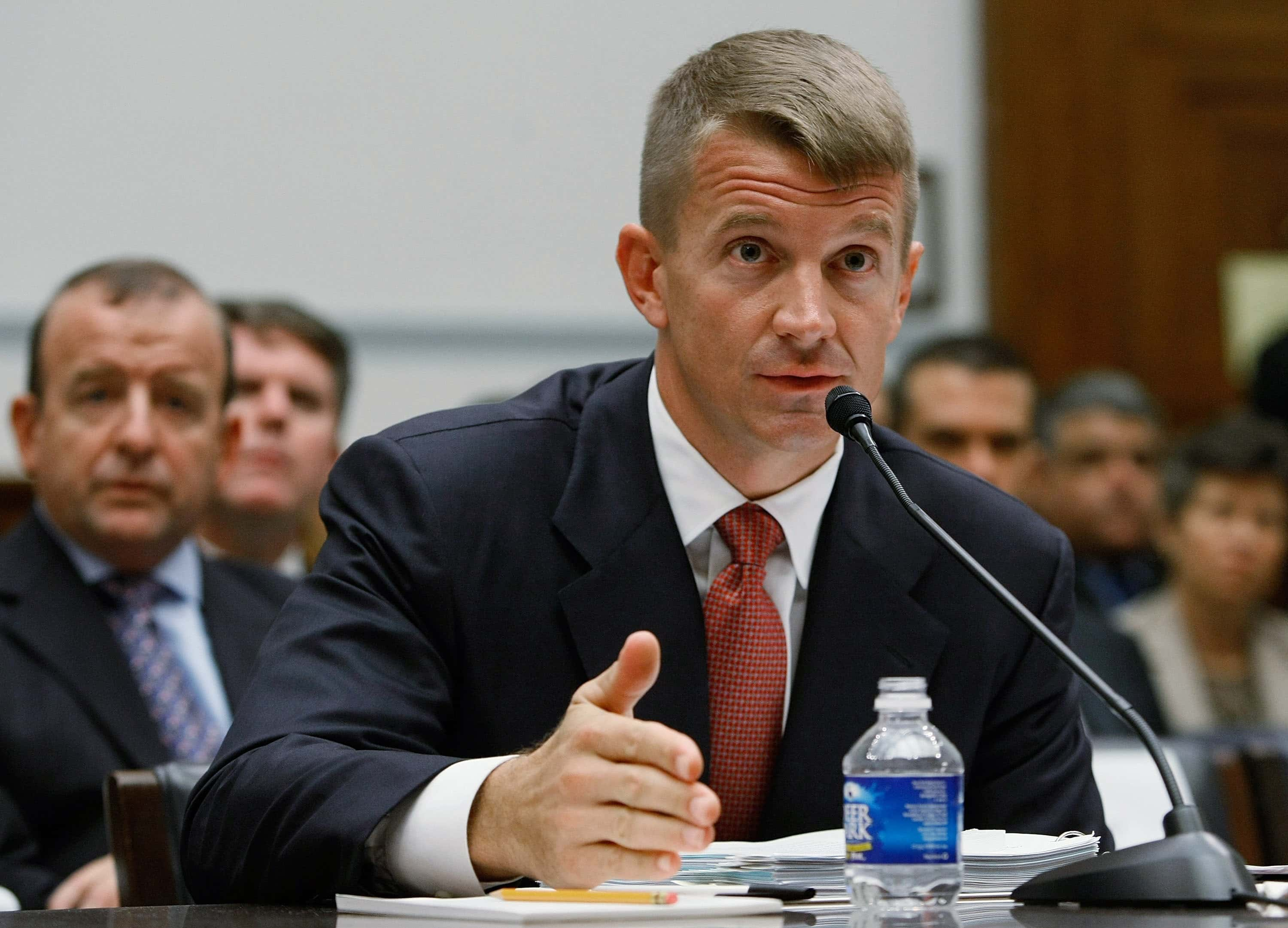 What is Erik Prince's net worth Trump ally who violated UN arms ...