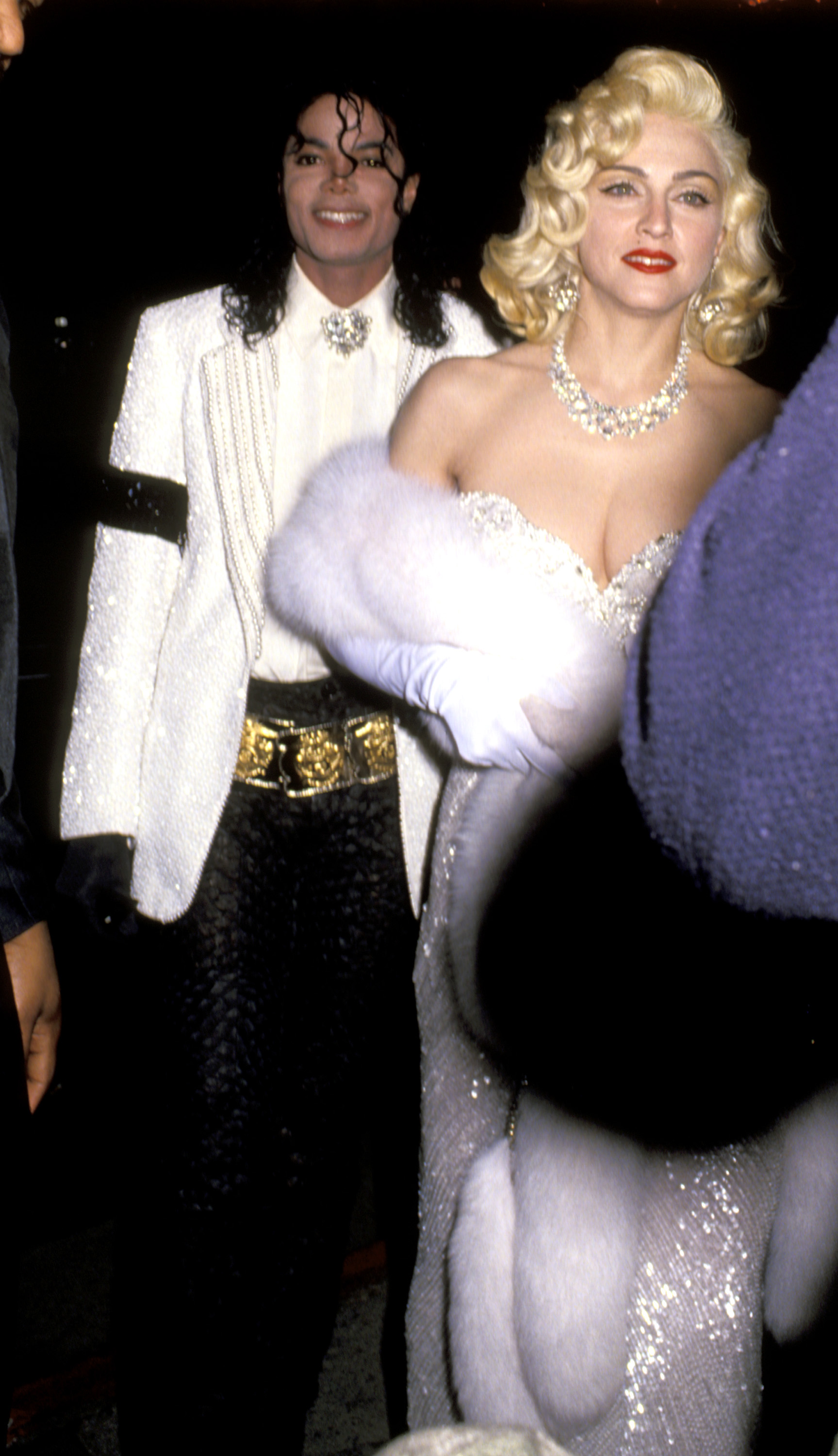 Michael Jackson and Madonna at the 63rd Annual Academy Awards - After Party at Spago's Hosted by Swifty Lazar on March 25, 1991 (Source: Ron Galella/WireImage)