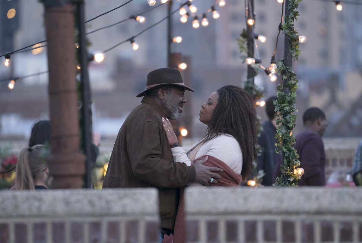 Ron and Patricia in 'The Village' (NBC)