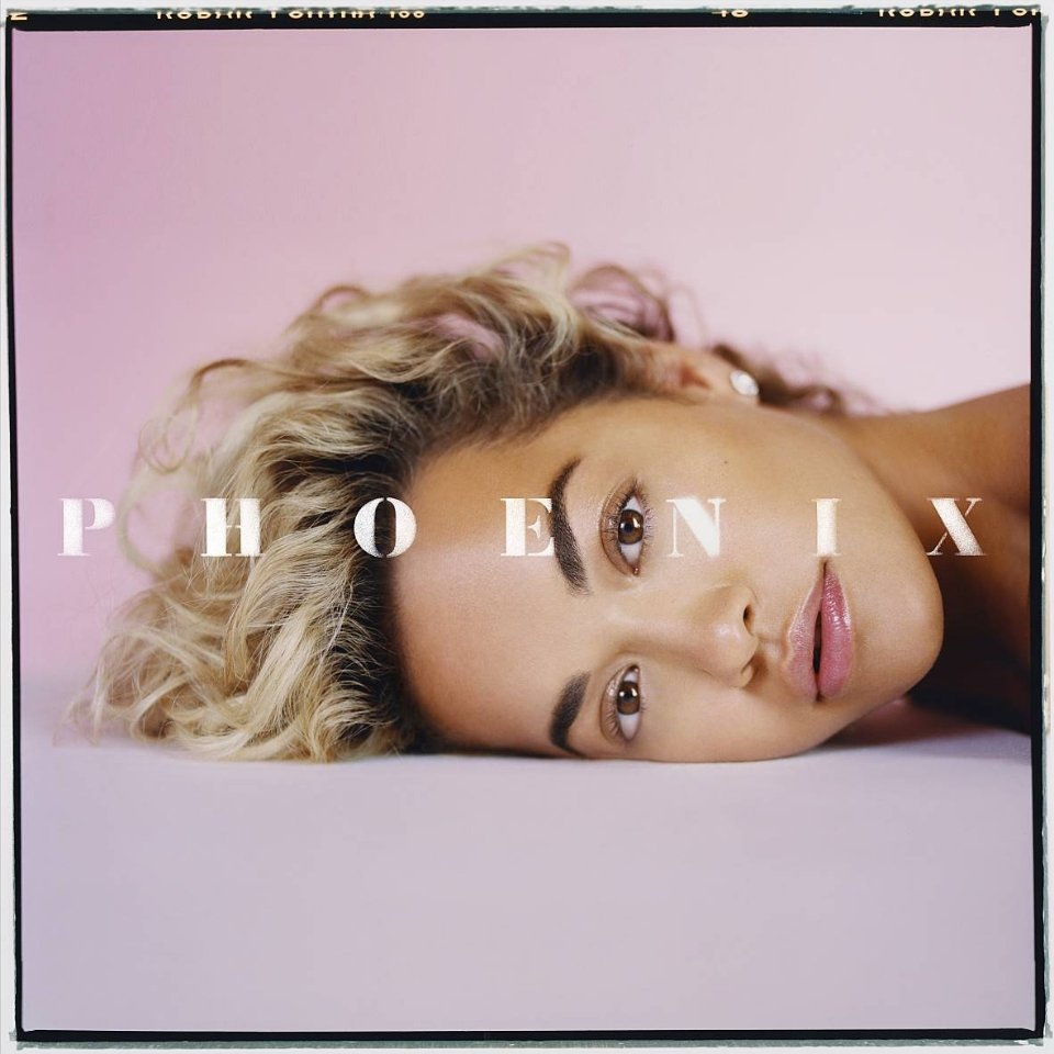 Album art for Rita Ora's 'Phoenix'.