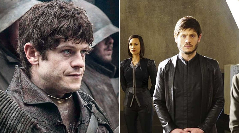 Iwan Rheon in 'Game of Thrones' and 'Inhumans'. (Source: IMDB)