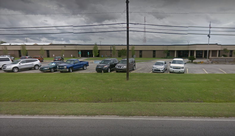 Parker has been detained at the Calcasieu Correctional Center(Source: Google Maps)