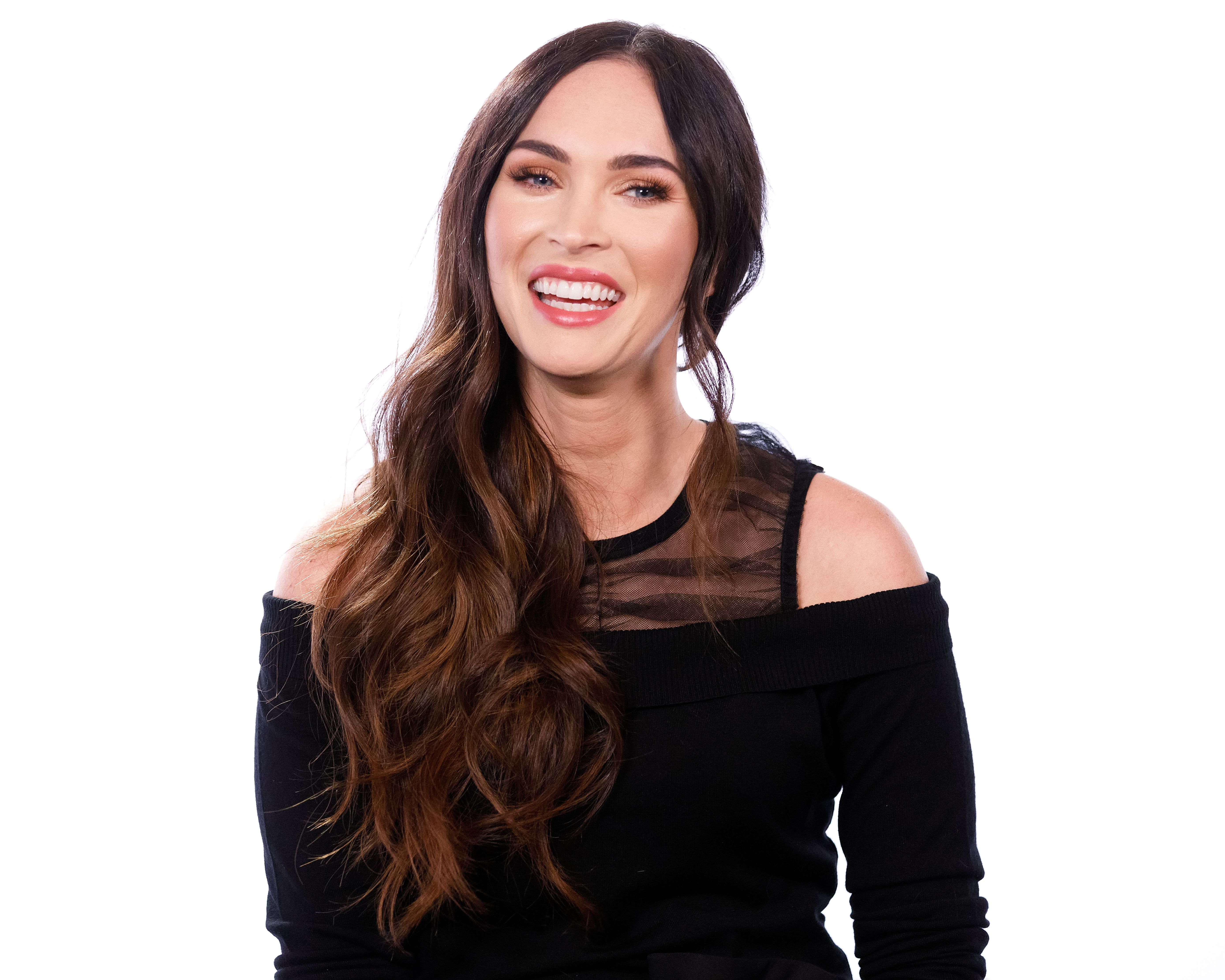 Megan Fox visits 'The IMDb Show' on November 16, 2018 in Studio City, California. (Photo by Rich Polk/Getty Images for IMDb).