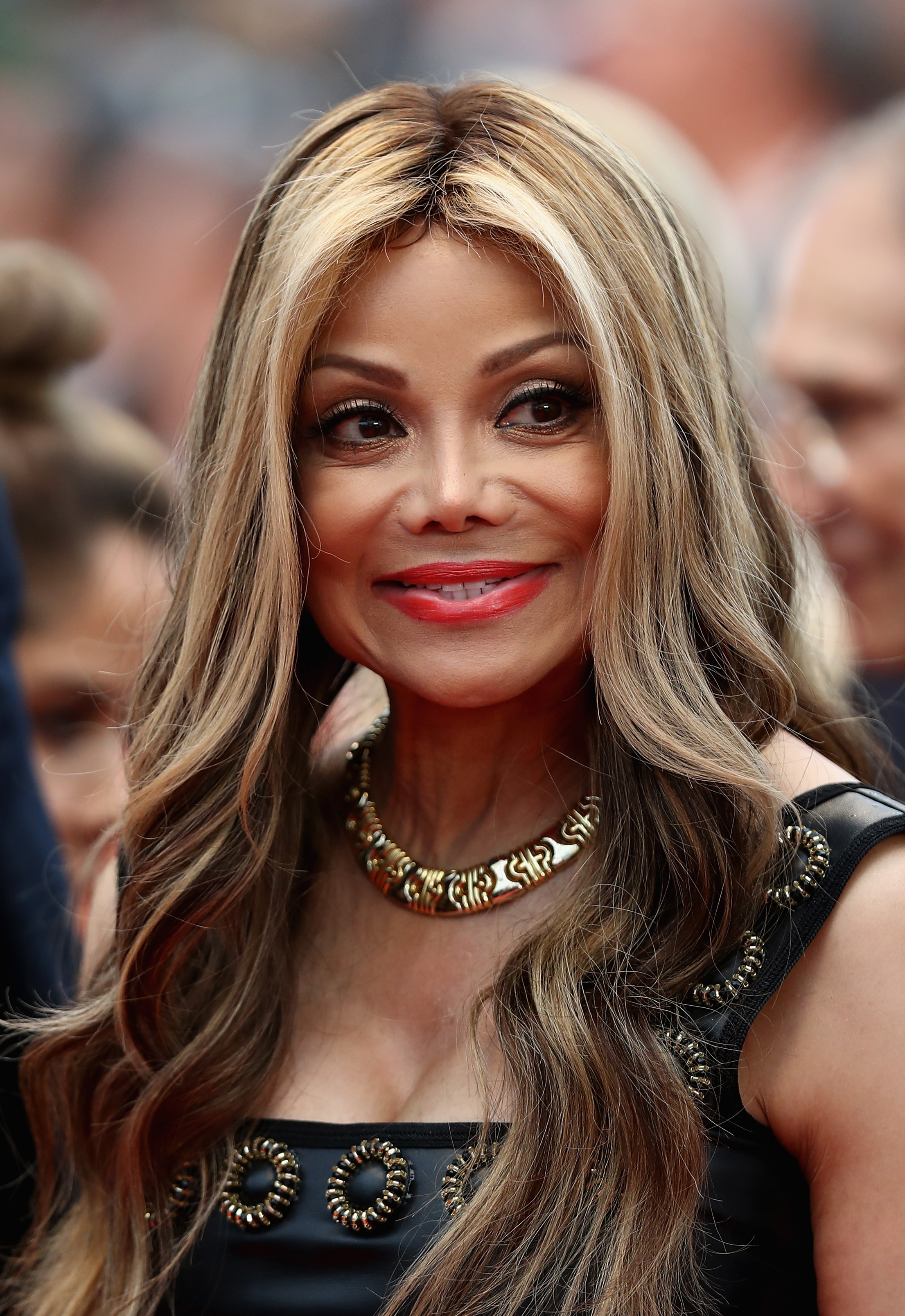 La Toya Jackson attends the screening of 'Burning' during the 71st annual Cannes Film Festival at Palais des Festivals on May 16, 2018, in Cannes, France. (Getty)